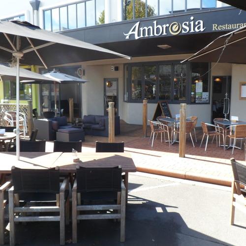 Ambrosia restaurant bar in rotorua view our menus for Ambrosia mediterranean cuisine