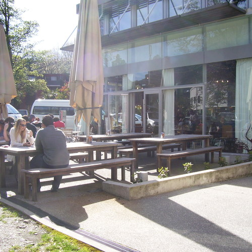 Outside Cafe