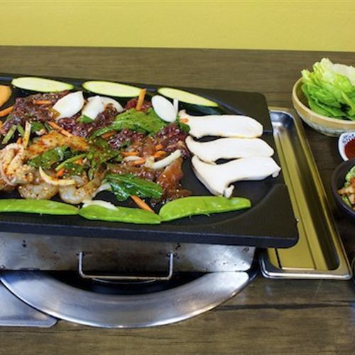 Sylvia's Wellbeing Kitchen Korean BBQ Restaurant