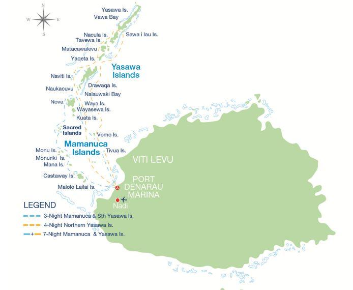 3 night mamanuca yasawa islands cruise by captain cook 3 nights captain cook cruise gumiabroncs Gallery
