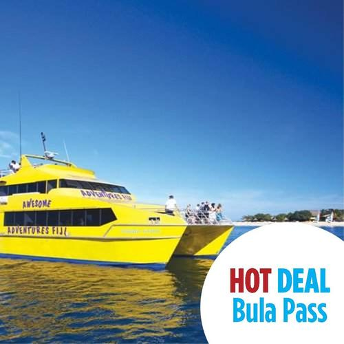 Bula Pass island hopping in Fiji