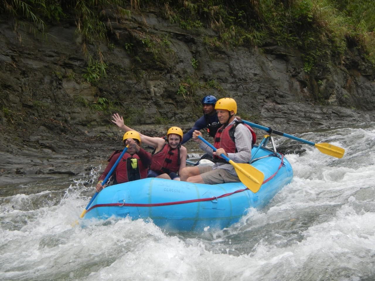 River Rafting on Upper Navua River