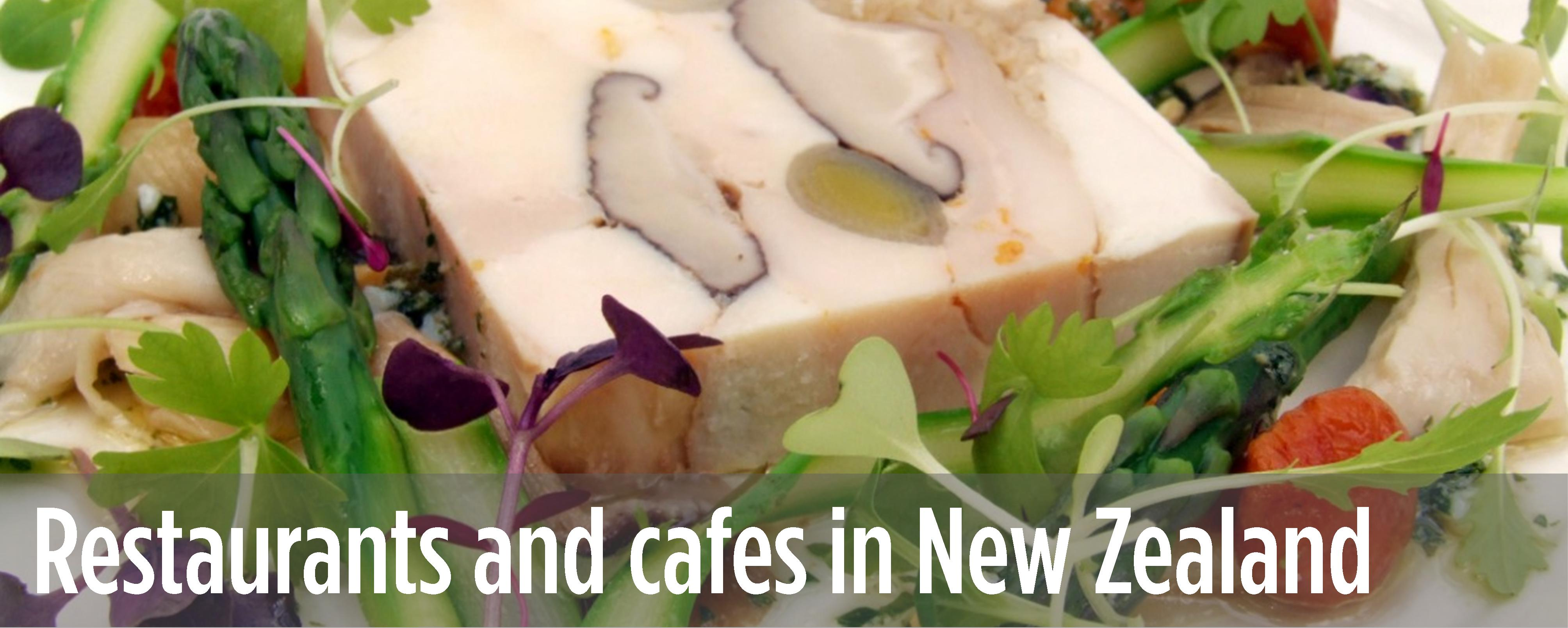 Restaurants and cafes in New Zealand
