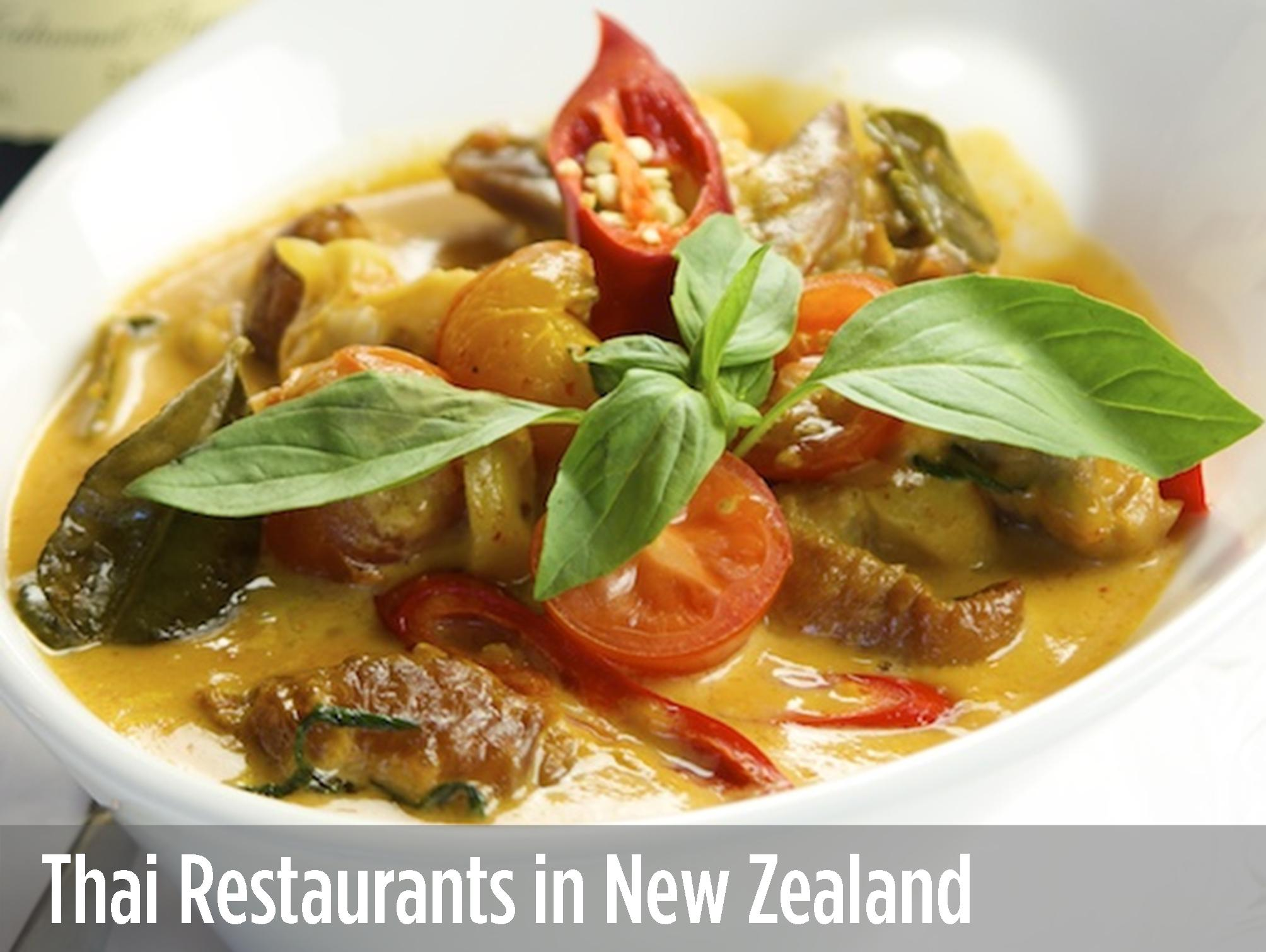 Thai Restaurants in New Zealand