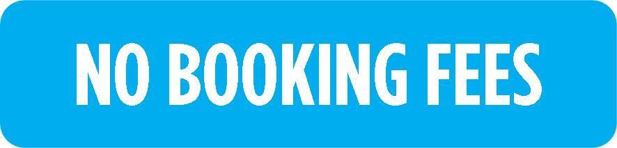 No Booking Fees