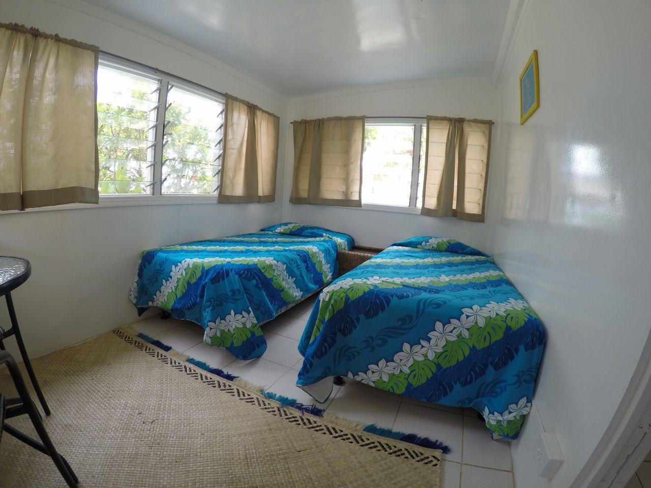 Second bedroom in 2 bedroom cottage at Macdonalds Fiji