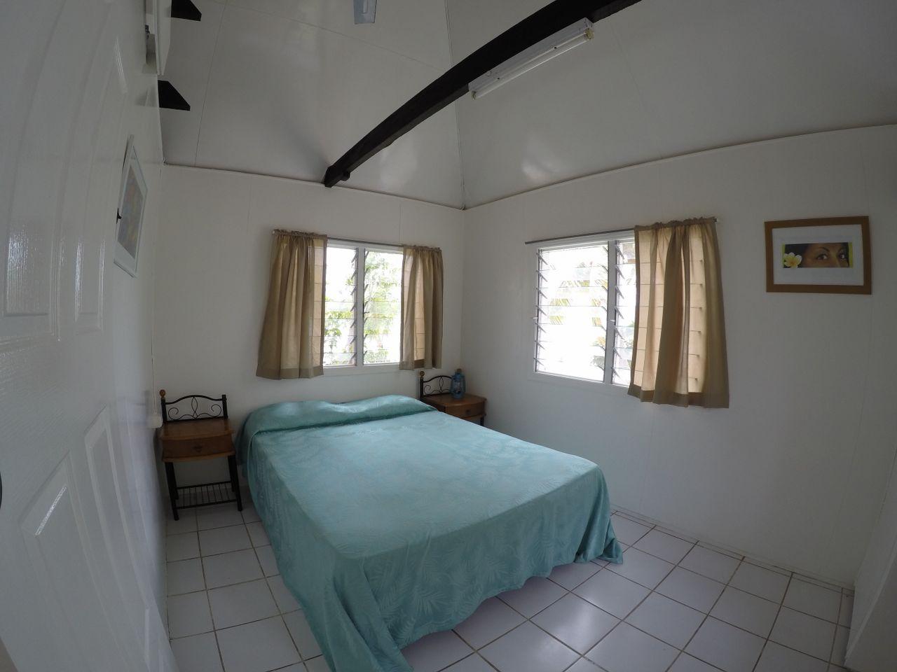 Main bedroom in Standard 2 bedroom cottage at Macdonalds