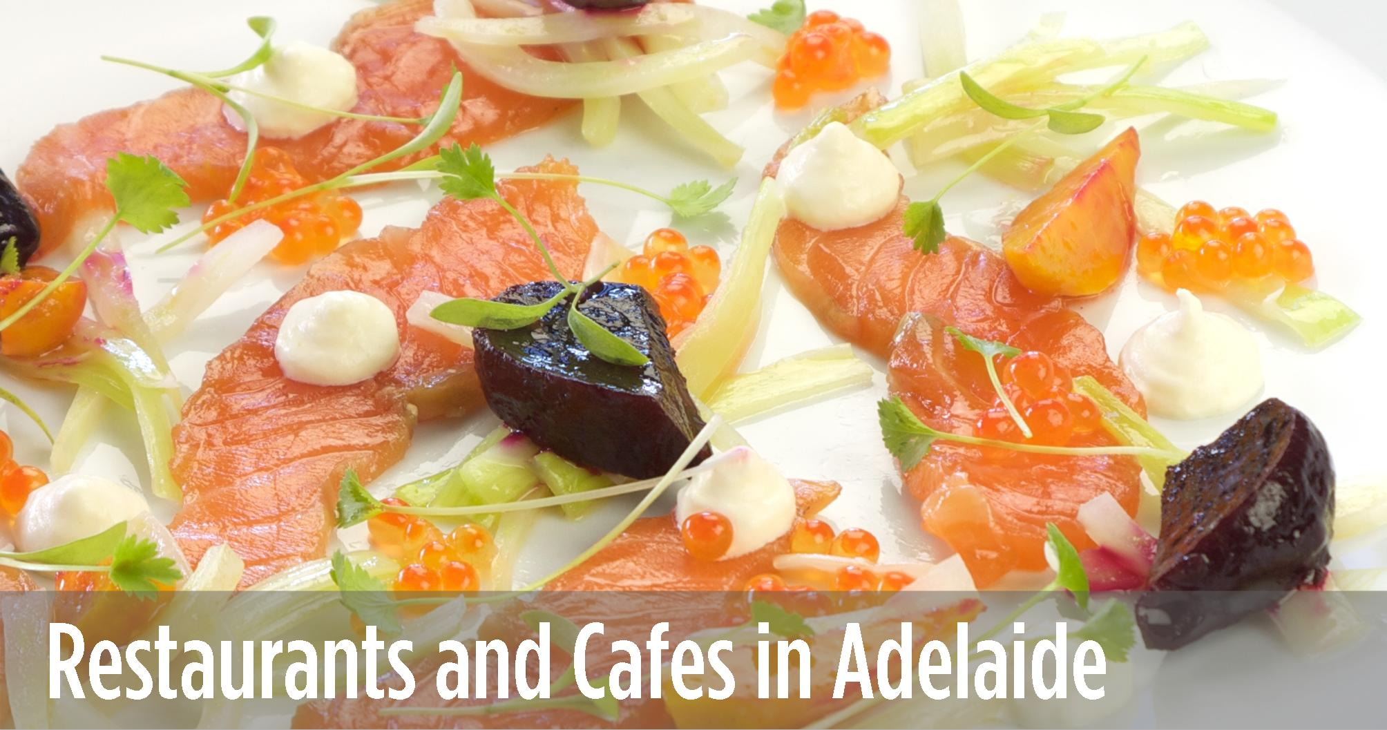 Adelaide Restaurant and Cafe Guide