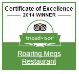 Roaring Megs TripAdvisor Badge