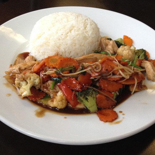 Chicken Stir Fry in Oyster Sauce