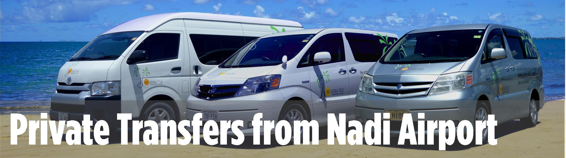 Private Airport Transfers in Fiji