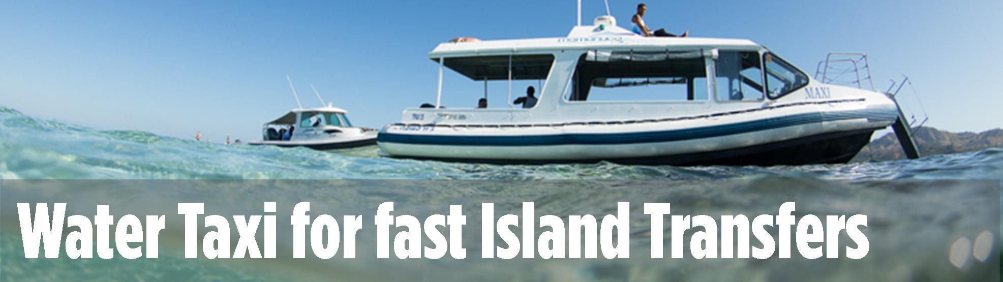 Water Taxi Island Transfers