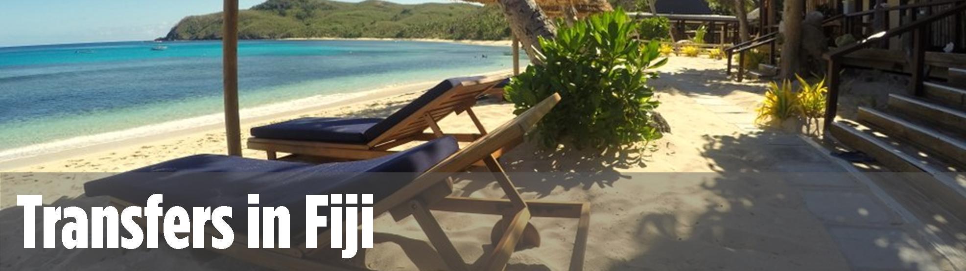 Transfers in Fiji, Yasawa Flyer, Hotel & airport transfers