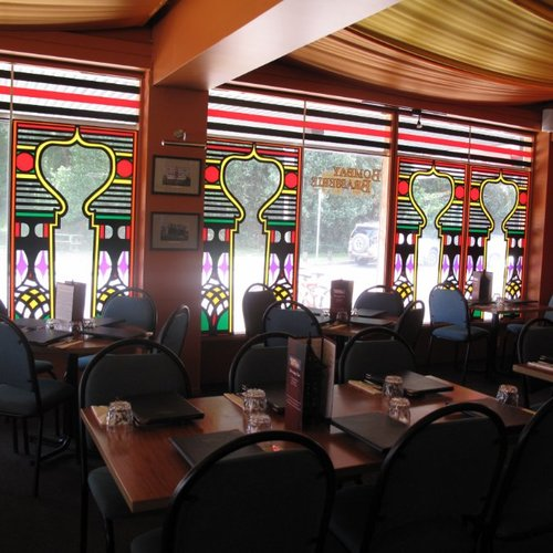 Inside of Bombay Brasserie Restaurant