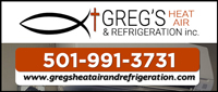 Greg's Heat/Air and Refrigeration, Inc.