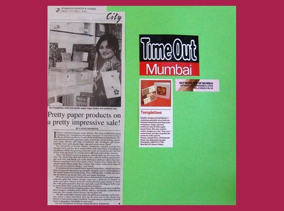 Afternoon & TimeOut Mumbai - Oct. & Nov. 2006