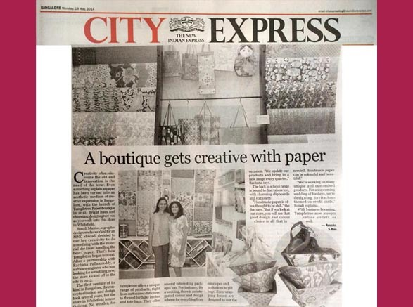 Indian Express - 19th May 2014