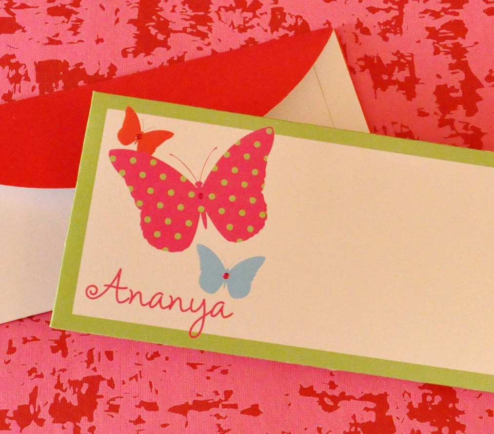Gift Envelope - Butterfly