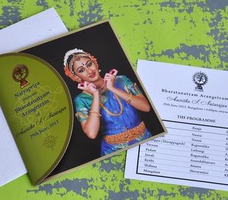 Invite - Arangetram: Aasritha