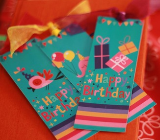Bookmark - Birthday