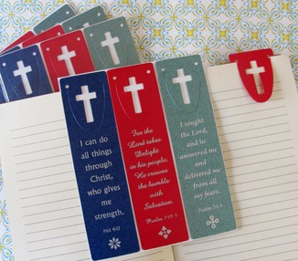 Bookmark - Psalms Diecut