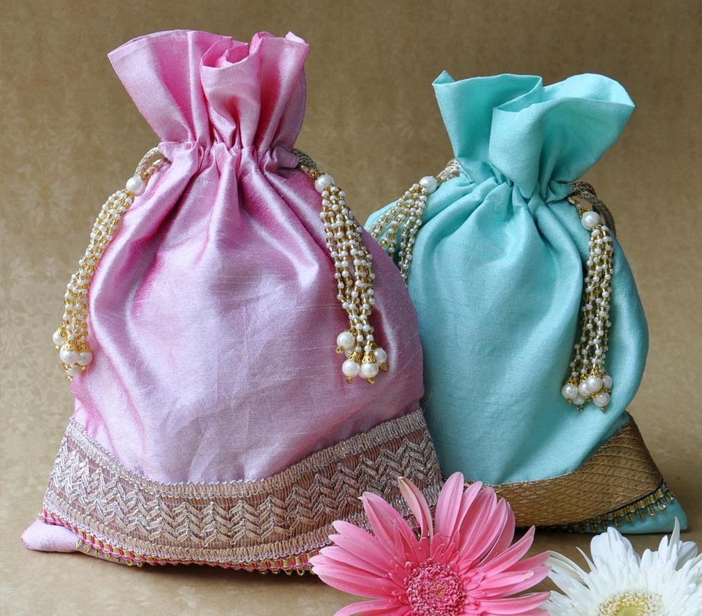 Potli Bags - Pastel