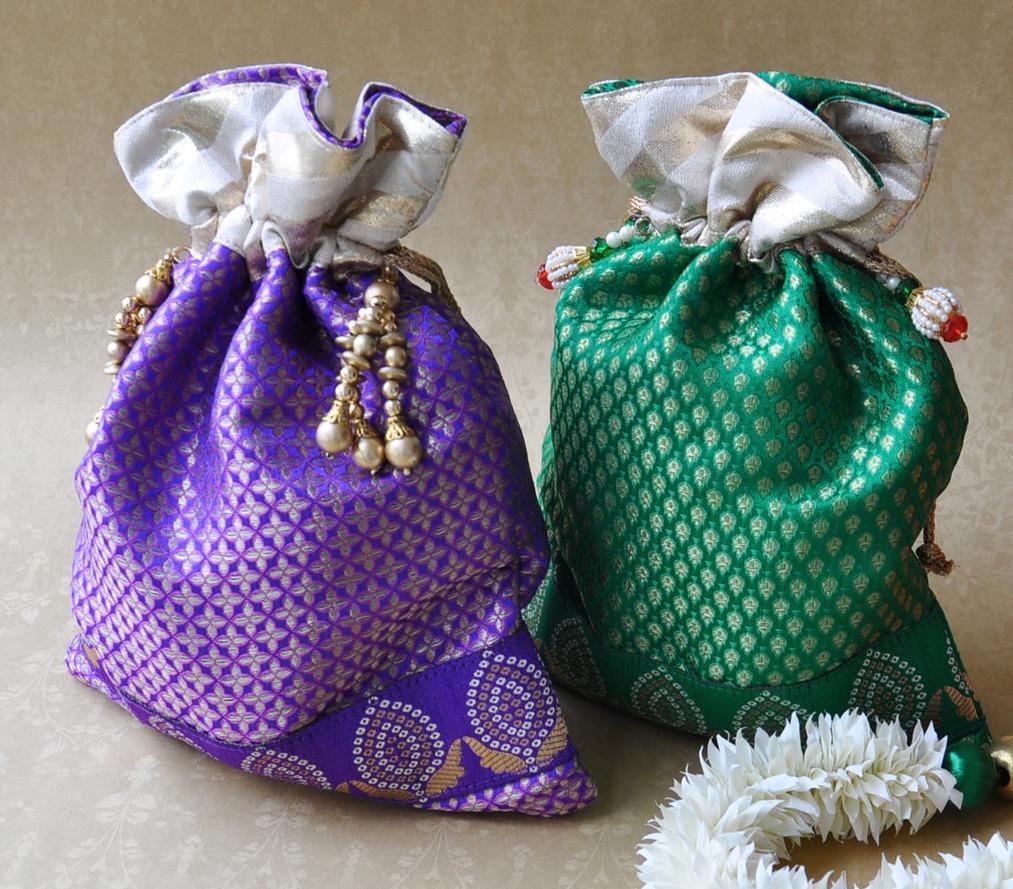 Potli Bags - Brocade