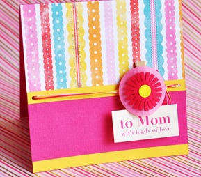 Mom - Floral Tag