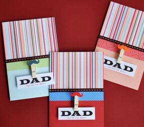 Dad - Clip card