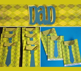 Dad - shirt & tie card