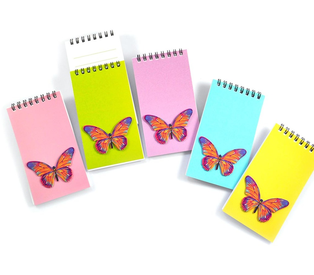 Notepad set - Butterfly