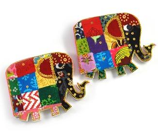 Notepad - Shaped Elephant