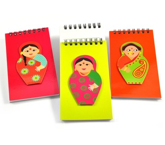 Notepad set - Indian Doll