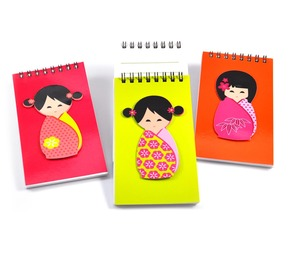 Notepad set - Japanese Doll