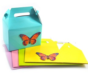 Cupcake Boxes - Butterfly