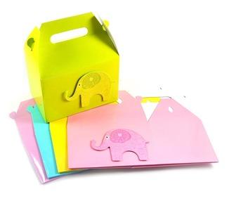 Cupcake Boxes - Elephant