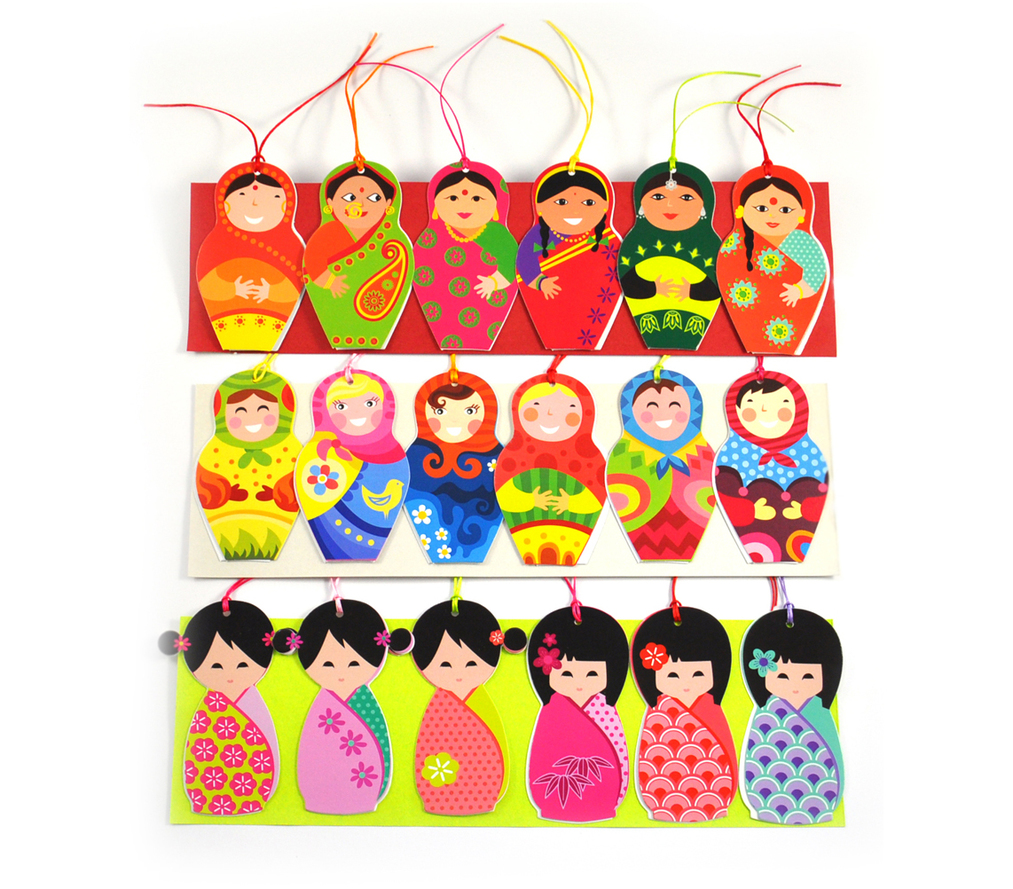 Tags - Indian, Japanese, Russian Dolls