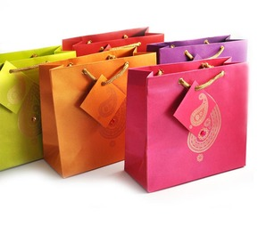 Gift Bags - Paisley motif