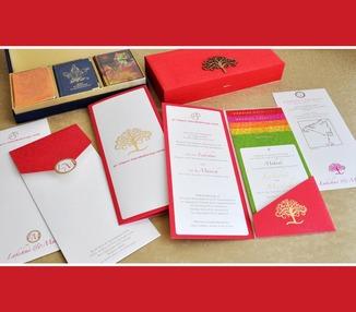 Wedding Invite - Tree of Life Motif