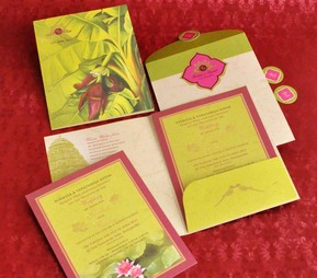 Wedding Invite - Ethnic