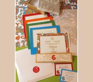 Wedding Invite - Paisley
