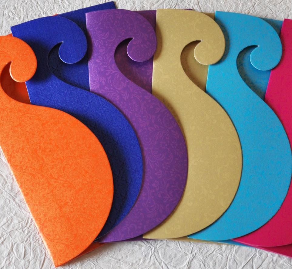 Gift Envelope - paisley