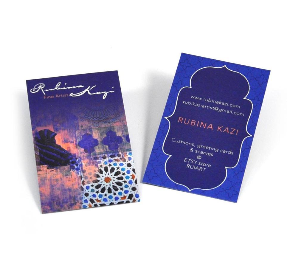 Business card - Rubina