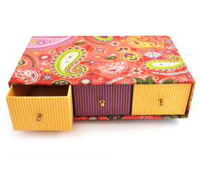 Box - 3 Drawer Paisley