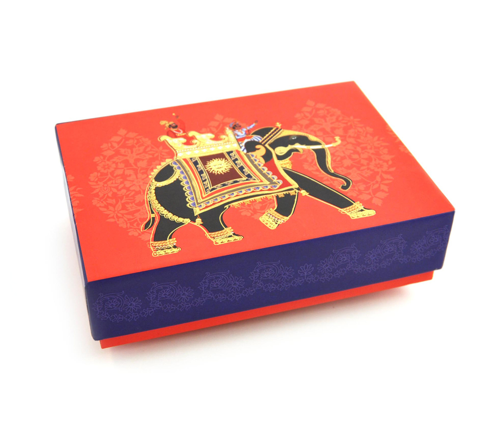 Box - Digital Print - Traditional Indian