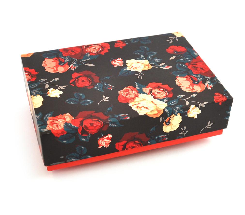 Box - Digital Print - Vintage Floral