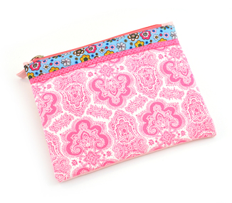 Fabric Pouch - Ornate