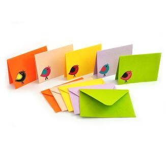 Notecards- Singing Birds