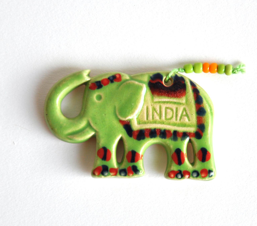 Magnet - Elephant - Green
