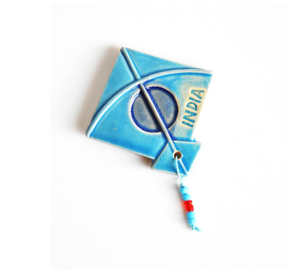 Magnet - Kite - Blue